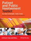 Patient and Public Involvement Toolkit (eBook)