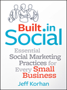 Built-In Social (eBook): Essential Social Marketing Practices for Every Small Business
