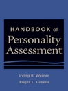 Handbook of Personality Assessment (eBook)