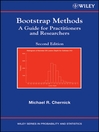 Bootstrap Methods (eBook): A Guide for Practitioners and Researchers