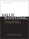 Value Investing (eBook): Tools and Techniques for Intelligent Investment