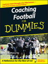 Coaching Football For Dummies (eBook)