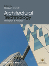 Architectural Technology (eBook): Research and Practice