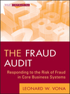 The Fraud Audit (eBook): Responding to the Risk of Fraud in Core Business Systems