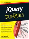 jQuery For Dummies (eBook)
