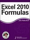 Excel 2010 Formulas (eBook)
