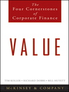 Value (eBook): The Four Cornerstones of Corporate Finance