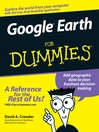 Google Earth For Dummies (eBook)