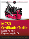 MCSD Certification Toolkit (Exam 70-483) (eBook): Programming in C#
