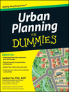 Urban Planning For Dummies (eBook)