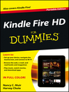 Kindle Fire HD For Dummies (eBook)