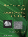 Plant Transposons and Genome Dynamics in Evolution (eBook)