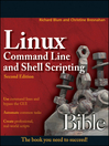 Linux Command Line and Shell Scripting Bible (eBook)