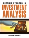 Getting Started in Investment Analysis (eBook)