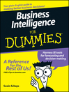 Business Intelligence For Dummies (eBook)