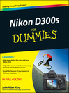 Nikon D300s For Dummies (eBook)