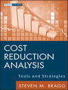 Cost Reduction Analysis (eBook): Tools and Strategies