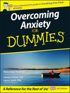 Overcoming Anxiety For Dummies (eBook)
