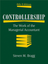 Controllership (eBook): The Work of the Managerial Accountant