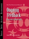 Ongoing Feedback (eBook): How to Get It, How to Use It