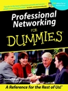 Professional Networking For Dummies (eBook)