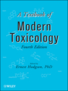 A Textbook of Modern Toxicology (eBook)