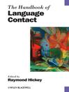 The Handbook of Language Contact (eBook)