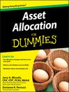 Asset Allocation For Dummies® (eBook)