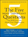 The Five Most Important Questions You Will Ever Ask About Your Organization (eBook)