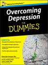 Overcoming Depression For Dummies (eBook)