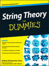 String Theory for Dummies (eBook)