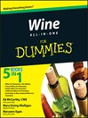 Wine All-in-One For Dummies (eBook)