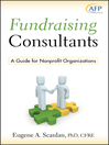 Fundraising Consultants (eBook): A Guide for Nonprofit Organizations