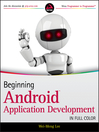 Beginning Android Application Development (eBook)
