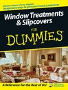 Window Treatments & Slipcovers For Dummies (eBook)