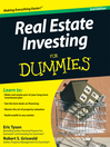 Real Estate Investing For Dummies® (eBook)
