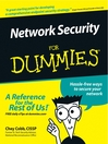 Network Security For Dummies (eBook)