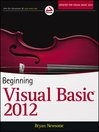 Beginning Visual Basic 2012 (eBook)