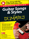 Guitar songs and styles for dummies : enhanced edition