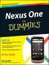 Nexus One For Dummies (eBook)