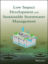 Low Impact Development and Sustainable Stormwater Management (eBook)