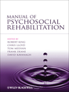 Manual of Psychosocial Rehabilitation (eBook)