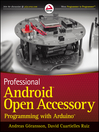 Professional Android Open Accessory Programming with Arduino (eBook)