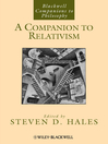 A Companion to Relativism (eBook)