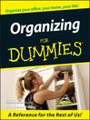 Organizing For Dummies (eBook)