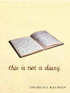 This is not a Diary (eBook)