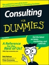 Consulting For Dummies (eBook)