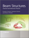 Beam Structures (eBook): Classical and Advanced Theories