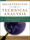 Breakthroughs in Technical Analysis (eBook): New Thinking From the World's Top Minds
