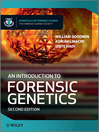 An Introduction to Forensic Genetics (eBook)